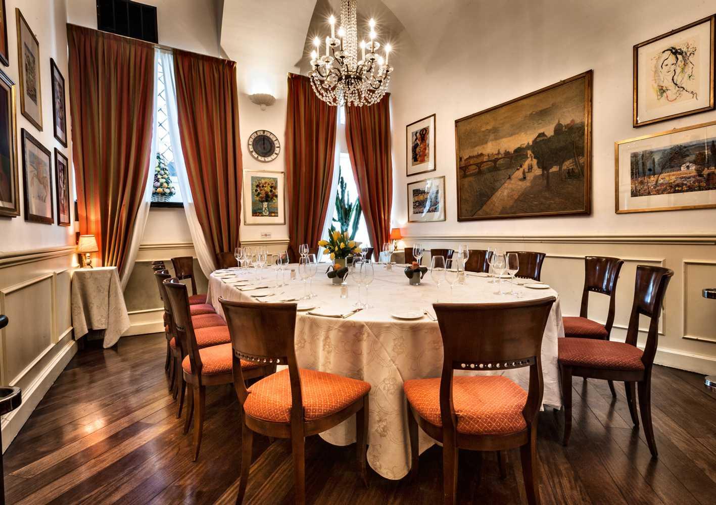Gallery fotografica antico ristorante boeucc in centro a for Kos milano ristorante