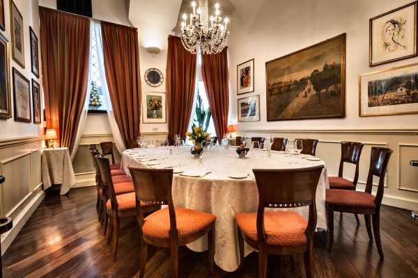 Saletta privata Ristorante Boeucc Milano