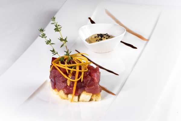 Tartare di tonno ristorante Boeucc - Milano
