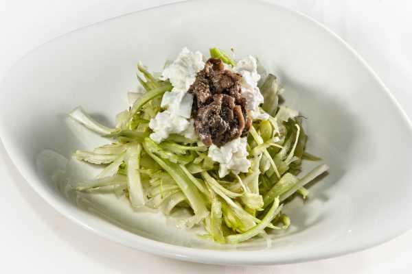 Puntarelle Salad ristorante restaurant boeucc milan