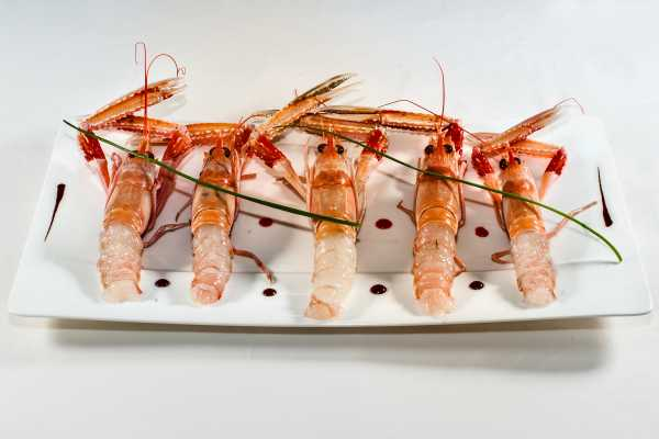 Scampi reali ristorante restaurant boeucc milan