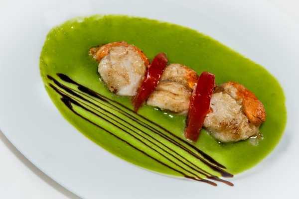 Scallops restaurant boeucc milan