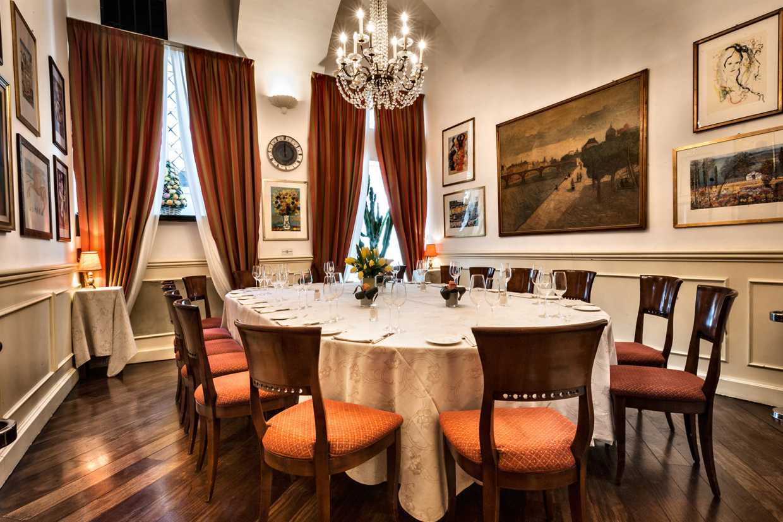 Private Dining Room Boeucc Milan