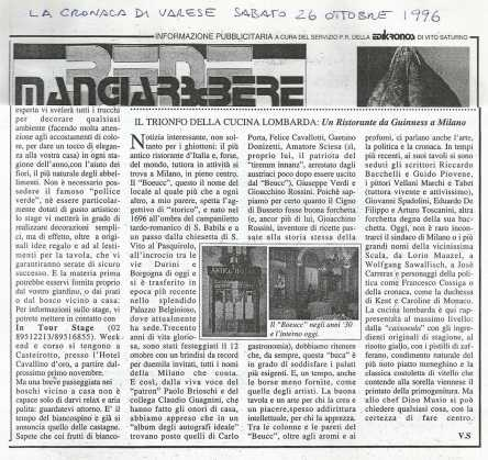 "The triumph of Lombardian cuisine – ""Mangiare e bere"" magazine"